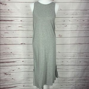 West Loop Women's gray medium Midi Dress
